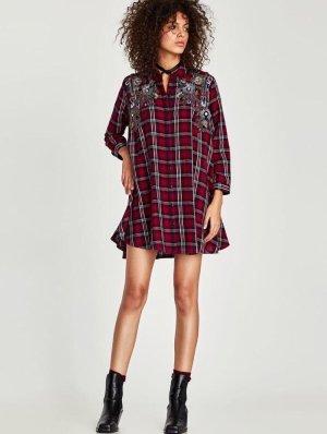 Kariertes Kleid Zara