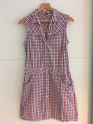 Kariertes, kurzes Kleid, H&M, Größe 38