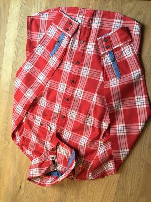 kariertes  Langarmhemd von Polo Sylt-letzte Reduzierung