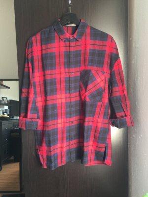 Zara Trafaluc Camisa de leñador multicolor