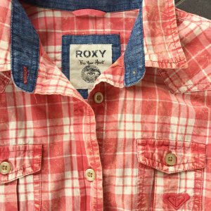 Roxy Camicia a maniche lunghe multicolore