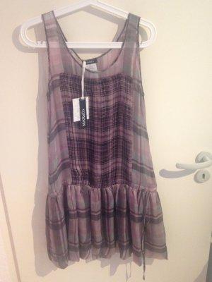 Kariertes, transparentes Kleid von Max&Co.