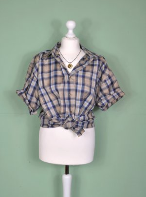 Kariertes Vintage Hemd in gedeckten Tönen