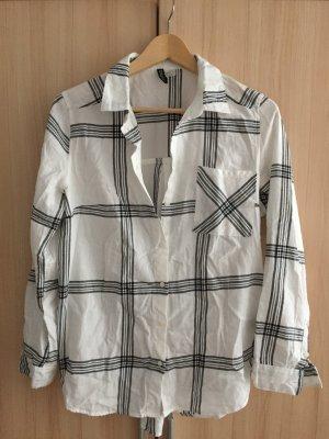 Kariertes Woll Hemd Oversize H&M