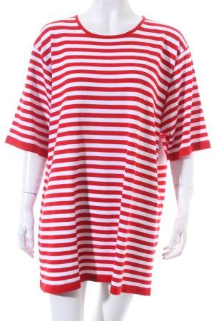Karin Glasmacher Strickshirt weiß-rot Streifenmuster Marine-Look