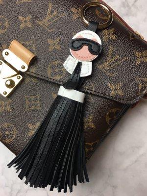 Porte-clés noir-blanc