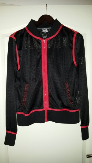 Karl Kani Sports Jacket black-brick red