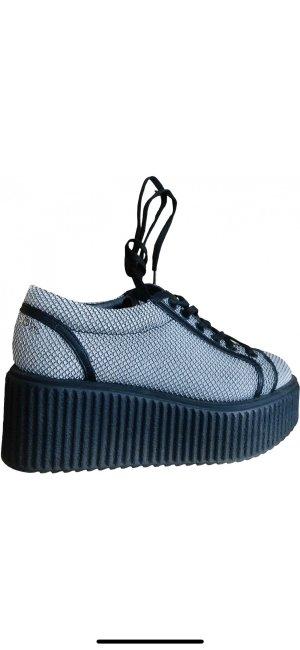 Karl Lagerfeld 2019 Sneaker Plattform Plateau schwarz Mesh