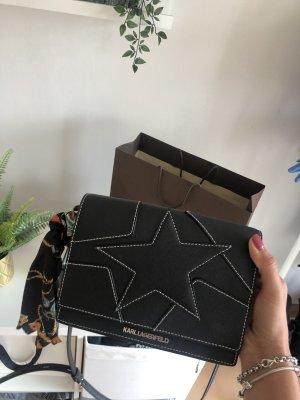 Karl Lagerfeld Mini Bag black-silver-colored