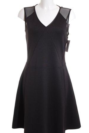 Karl Lagerfeld A-Linien Kleid schwarz Elegant