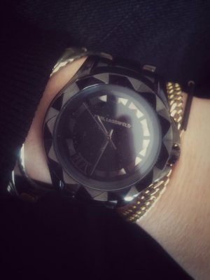 Karl Lagerfeld Armbanduhr 7 black