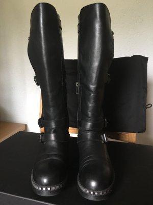 Karl Lagerfeld Biker High Boots