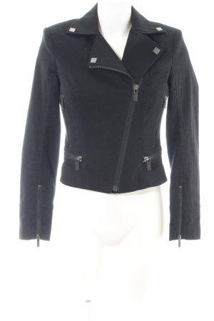 Karl Lagerfeld Bikerjacke schwarz Casual-Look