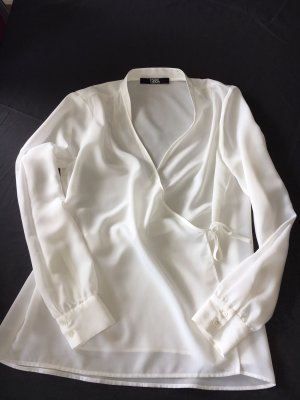 Karl Lagerfeld Blouse portefeuille blanc