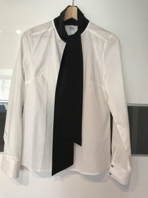 Karl Lagerfeld Tie-neck Blouse white-black