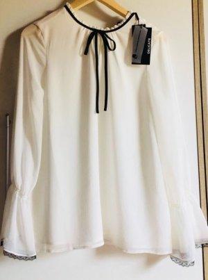 Karl Lagerfeld Camicetta a maniche lunghe bianco-nero