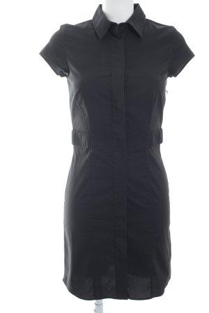Karl Lagerfeld Blusenkleid schwarz Business-Look