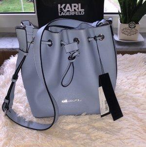 Karl Lagerfeld Bucket Bag NP: 295€  blau Neu mit Etikett Tasche