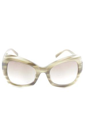 Karl Lagerfeld Butterfly Brille khaki Elegant