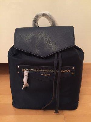 Karl Lagerfeld City Rucksack Backpack Sophie dunkelblau NEU