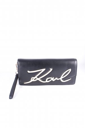 "Karl Lagerfeld Clutch ""K/Metal Signature Baguette Clutch"""