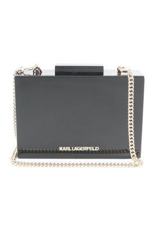 Karl Lagerfeld Clutch schwarz-goldfarben Elegant