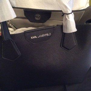 Karl Lagerfeld, Damentasche Handtasche Shopper NEU schwarz