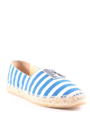"Karl Lagerfeld Espadrilles-Sandalen ""Beach Espadrilles Stripes Blue/White 37"""