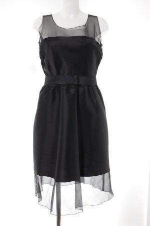 Karl Lagerfeld for H&M Chiffonkleid schwarz Elegant