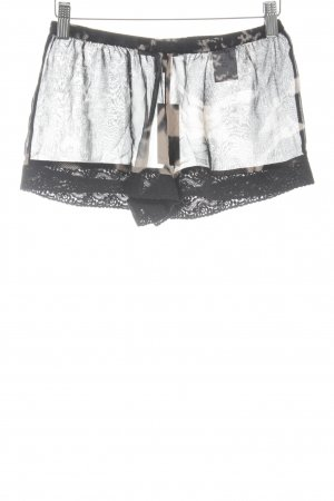 Karl Lagerfeld for H&M Hot Pants black-nude abstract pattern transparent look