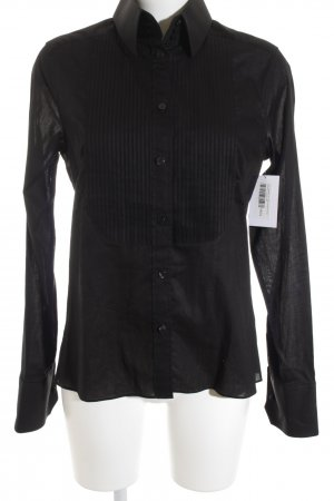 Karl Lagerfeld for H&M Langarmhemd schwarz Casual-Look