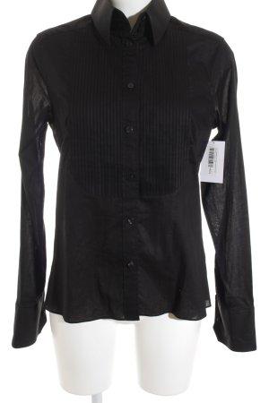 Karl Lagerfeld for H&M Langarmhemd schwarz Casual-Look