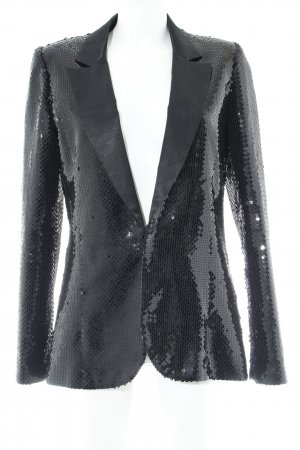 Karl Lagerfeld for H&M Smoking-Blazer schwarz extravaganter Stil