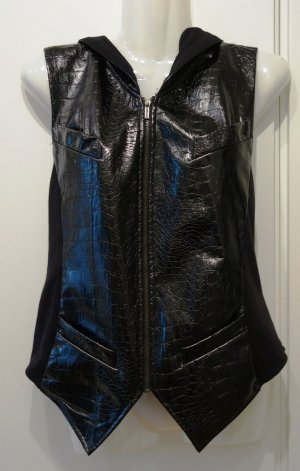 Karl Lagerfeld for impulse (Macy's) Weste Gr. S (36/38) Blogger Punk Grunge Look