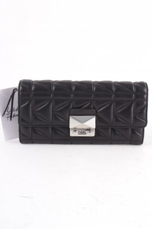 Karl Lagerfeld Geldbörse schwarz Casual-Look