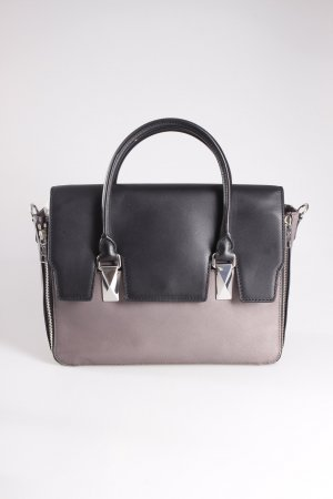 Karl Lagerfeld Handtasche Bicolor Bag Grey/Black