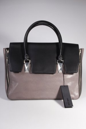 Karl Lagerfeld Handtasche Bicolor Bag Large Grey/Black