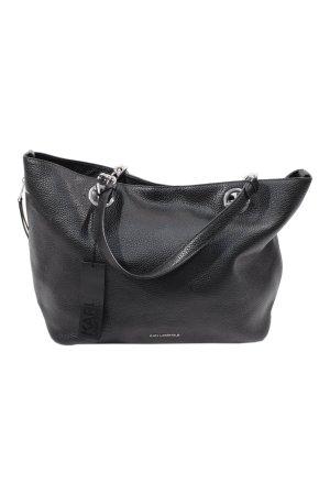 Karl Lagerfeld Handtasche in Schwarz