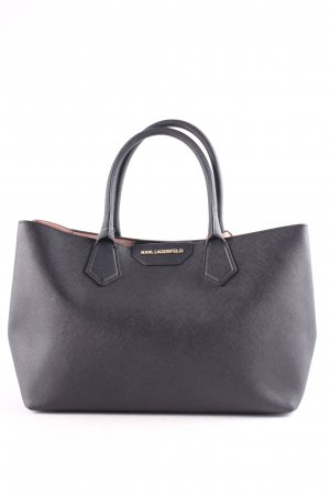 "Karl Lagerfeld Handtasche ""K/Shopper Small Saffiano Black"""