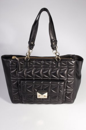 Karl Lagerfeld Handtasche Karl Quilted Shopper Black