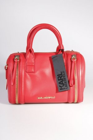 Karl Lagerfeld Handtasche Karl Zip Small Bauletto Red