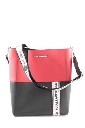 facaa3ed20b2c Karl Lagerfeld Handtasche mehrfarbig Street-Fashion-Look