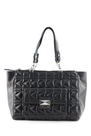 Karl Lagerfeld Handtasche schwarz Casual-Look