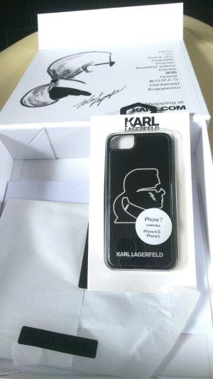 Karl Lagerfeld Waaier wit-zwart