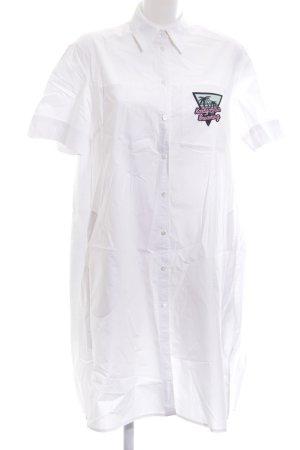 Karl Lagerfeld Hemdblusenkleid mehrfarbig Casual-Look