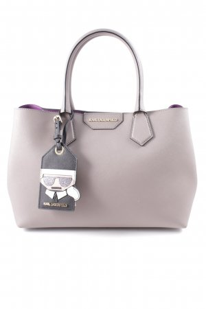 Karl Lagerfeld Carry Bag mauve casual look