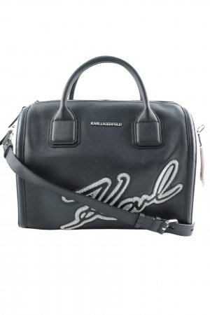 "Karl Lagerfeld Carry Bag ""Holiday Duffle Bag Black"""