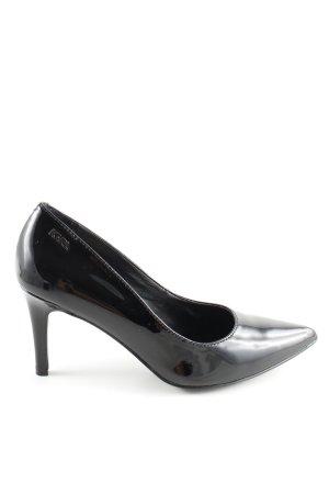 Karl Lagerfeld Talons hauts noir style d'affaires