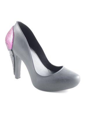 Karl Lagerfeld High Heels schwarz Elegant