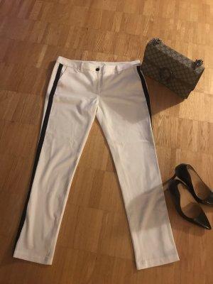 Karl Lagerfeld Pantalon 7/8 blanc-noir
